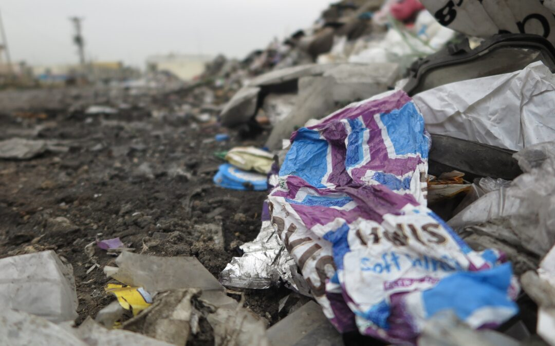"BBC: ""UK plastic waste dumped by Turkish roadsides in Adana city!"""