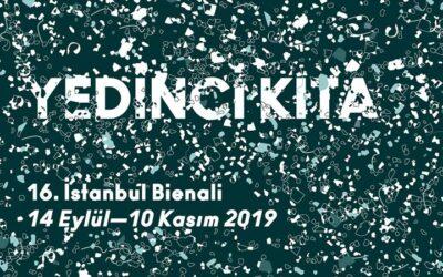 Grubumuzdan Doç. Dr. Sedat Gündoğdu 16. İstanbul Bienali'nde Mikroplastikleri Anlatıyor